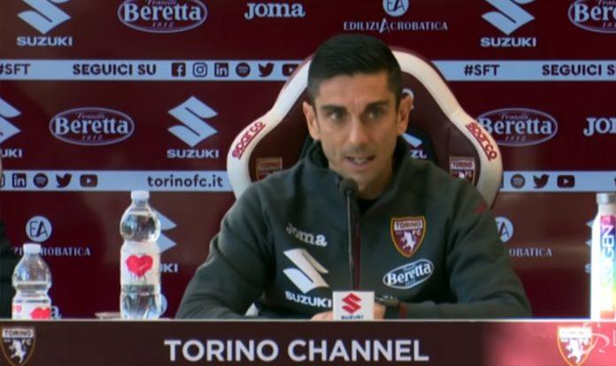 Moreno Longo in conferenza stampa