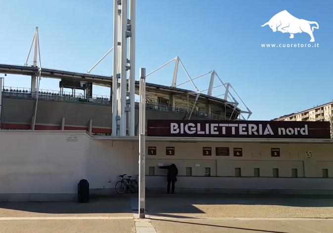 Biglietteria TorinoFc Stadio Grande Torino