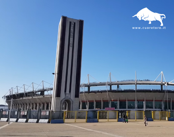 La Torre Maratona allo Stadio Grande Torino