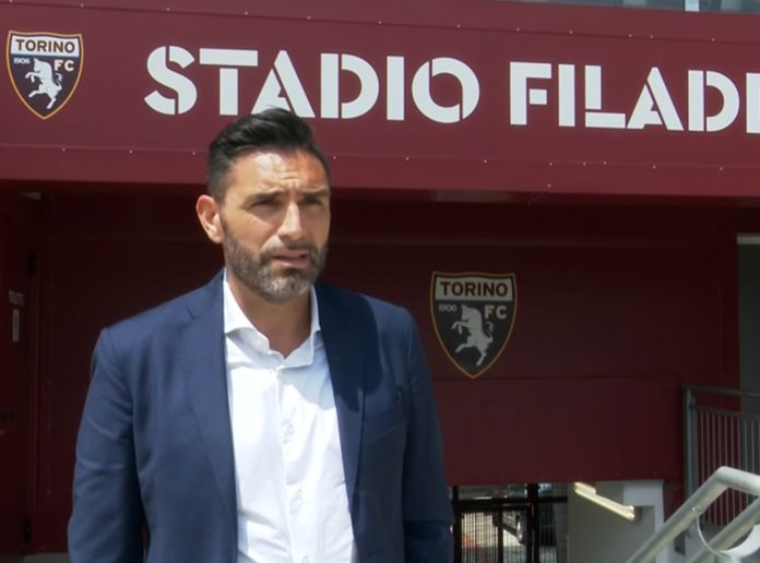 Davide Vagnati, ds del TorinoFc, al Filadelfia nel giorno della presentazione