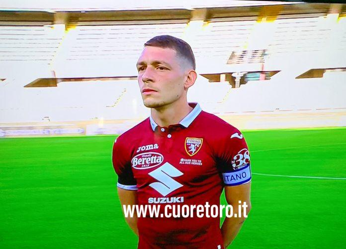 Andrea Belotti allo Stadio Grande Torino