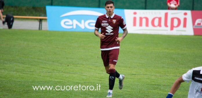 Daniele Baselli durante il ritiro di Bormio