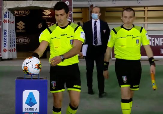 Arbitro Maresca