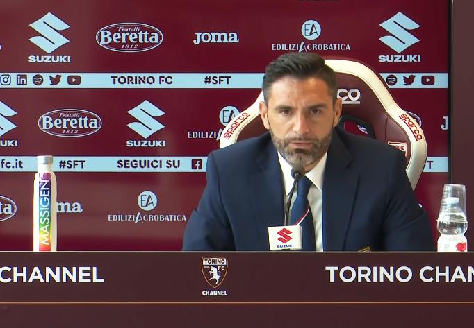 Davide Vagnati in conferenza stampa