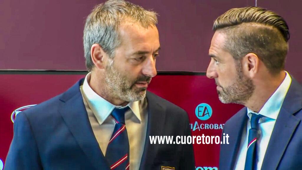 Marco Giampaolo e Davide Vagnati