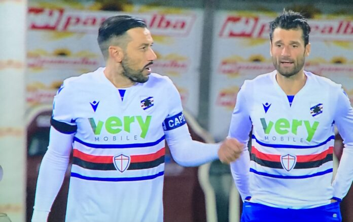 Fabio Quagliarella e Antonio Candreva