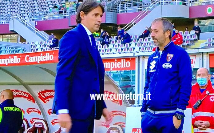 Simone Inzaghi e Marco Giampaolo