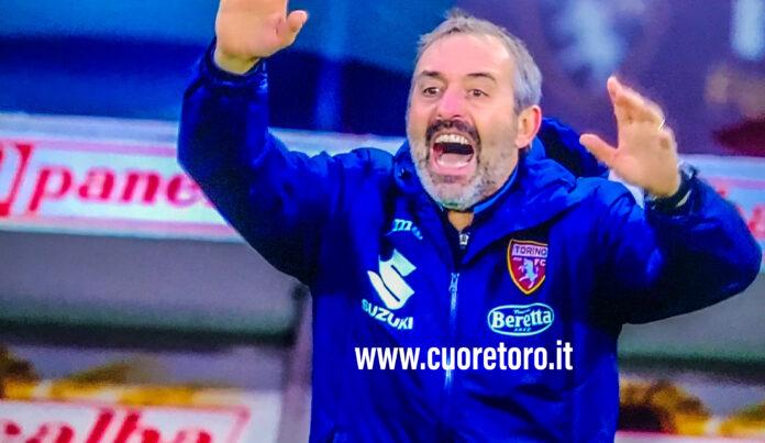 Marco Giampaolo, tecnico del TorinoFc