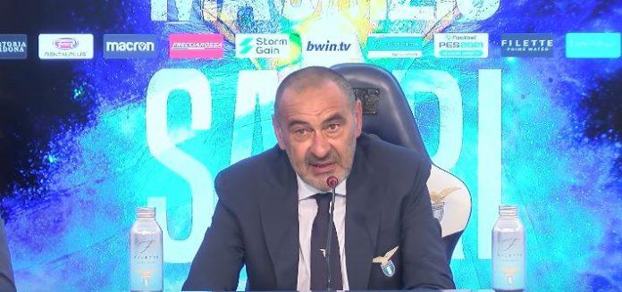 Maurizio Sarri, tecnico della Lazio